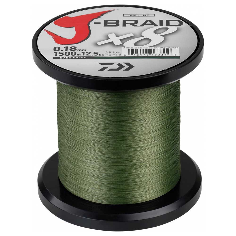 Daiwa Jbraid 8 Braid 1500 m
