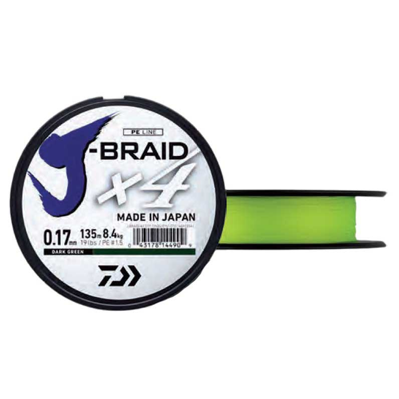 Daiwa Jbraid 4 Braid 135m