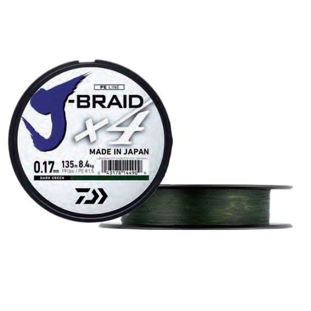 Daiwa Jbraid 4 Braid 450 m