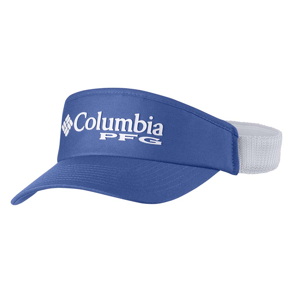 496ed659fc07a Columbia PFG Mesh Visor Blue buy and offers on Waveinn