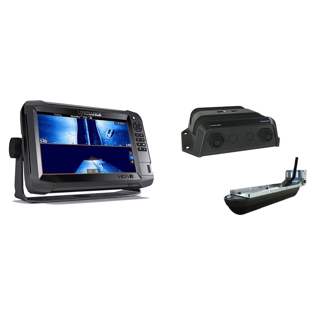 Lowrance HDS-9 Carbon ROW Med/High/3d Bundle