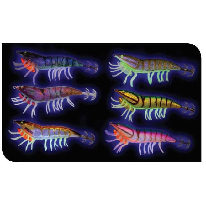 Savage Gear 3D Hybrid Shrimp EGI Squid Jig 75mm 12g