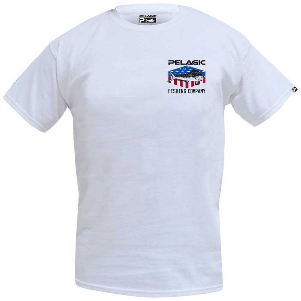 t-shirts-pelagic-patriot-dorado-xl-white