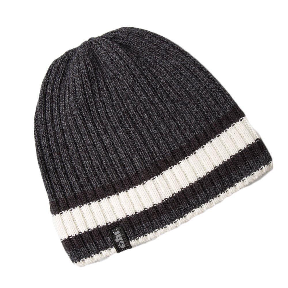 kopfbedeckung-gill-melange-knit-beanie-one-size-ash-melange