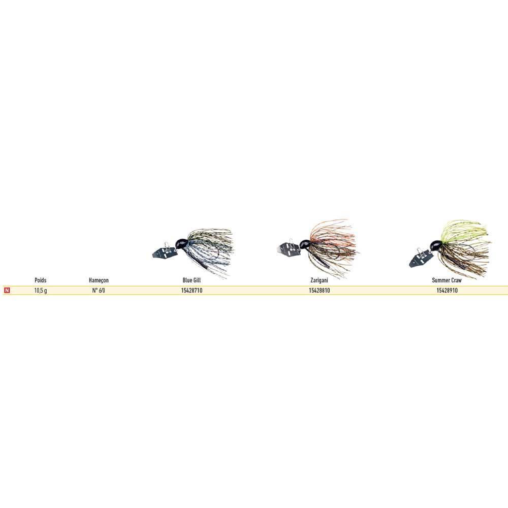 Daiwa Prorex TG Bladed Jig 10.5g With tungsten head COLOURS