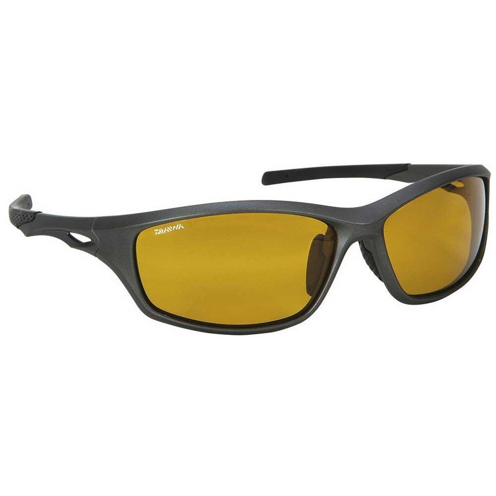 sonnenbrillen-daiwa-polarised-fine-frame-yellow-cat2-matt-grey