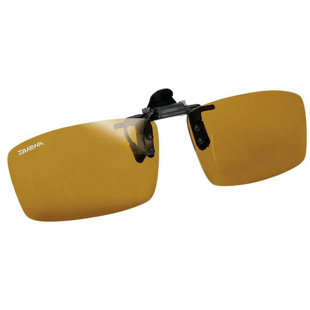 sonnenbrillen-daiwa-polarised-clip-on-2-yellow-cat2-matt-grey