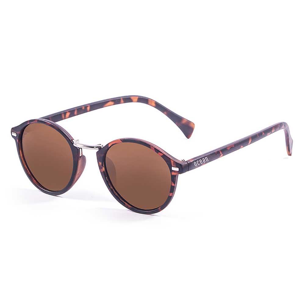sonnenbrillen-ocean-sunglasses-lille-brown-cat3-matte-demy-brown