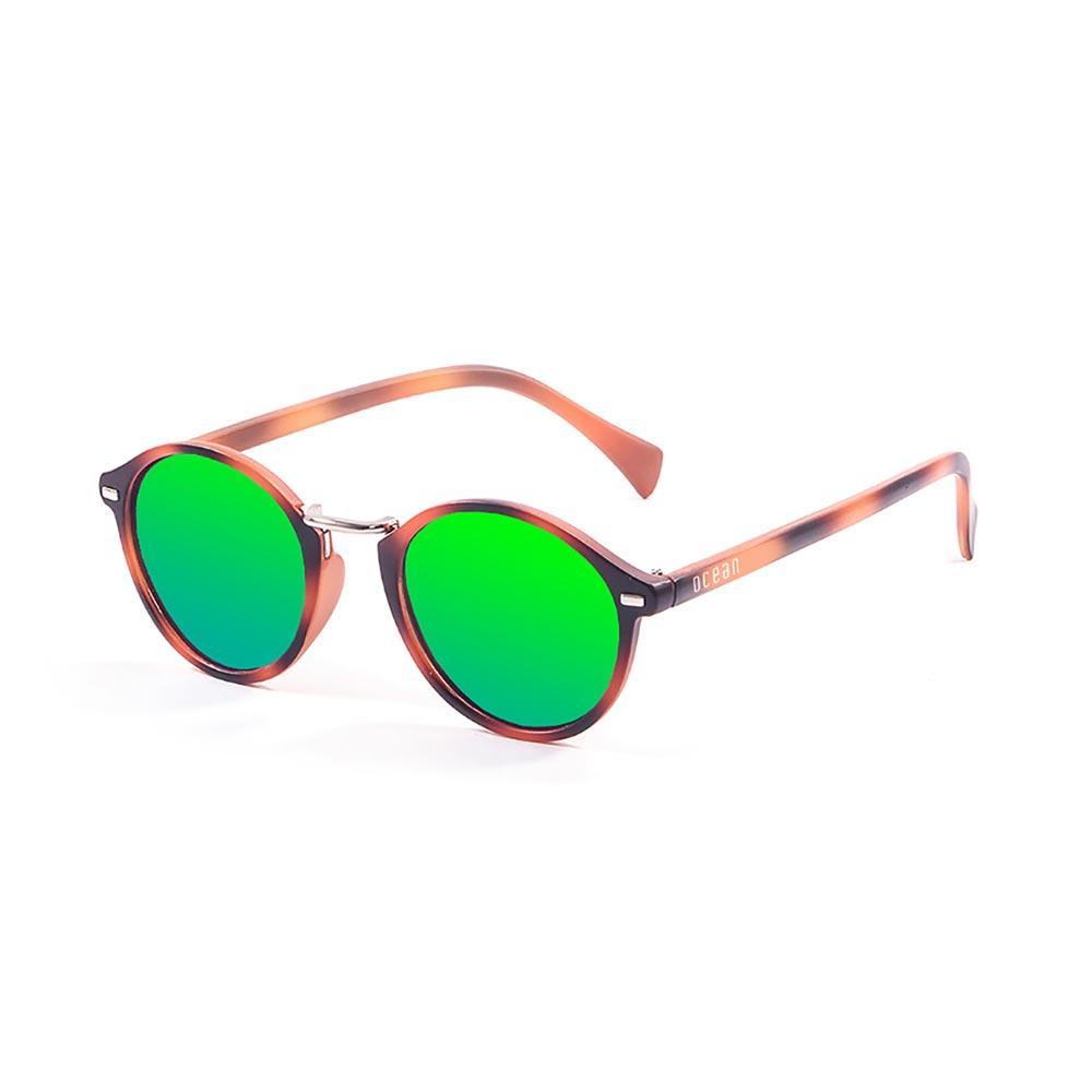 ocean-sunglasses-lille-green-revo-cat3-matte-brown-strips