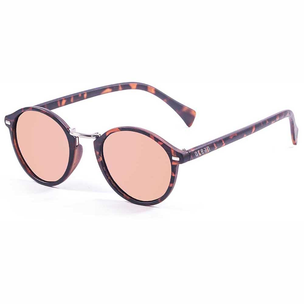 sonnenbrillen-ocean-sunglasses-lille-pink-revo-red-cat3-demy-brown