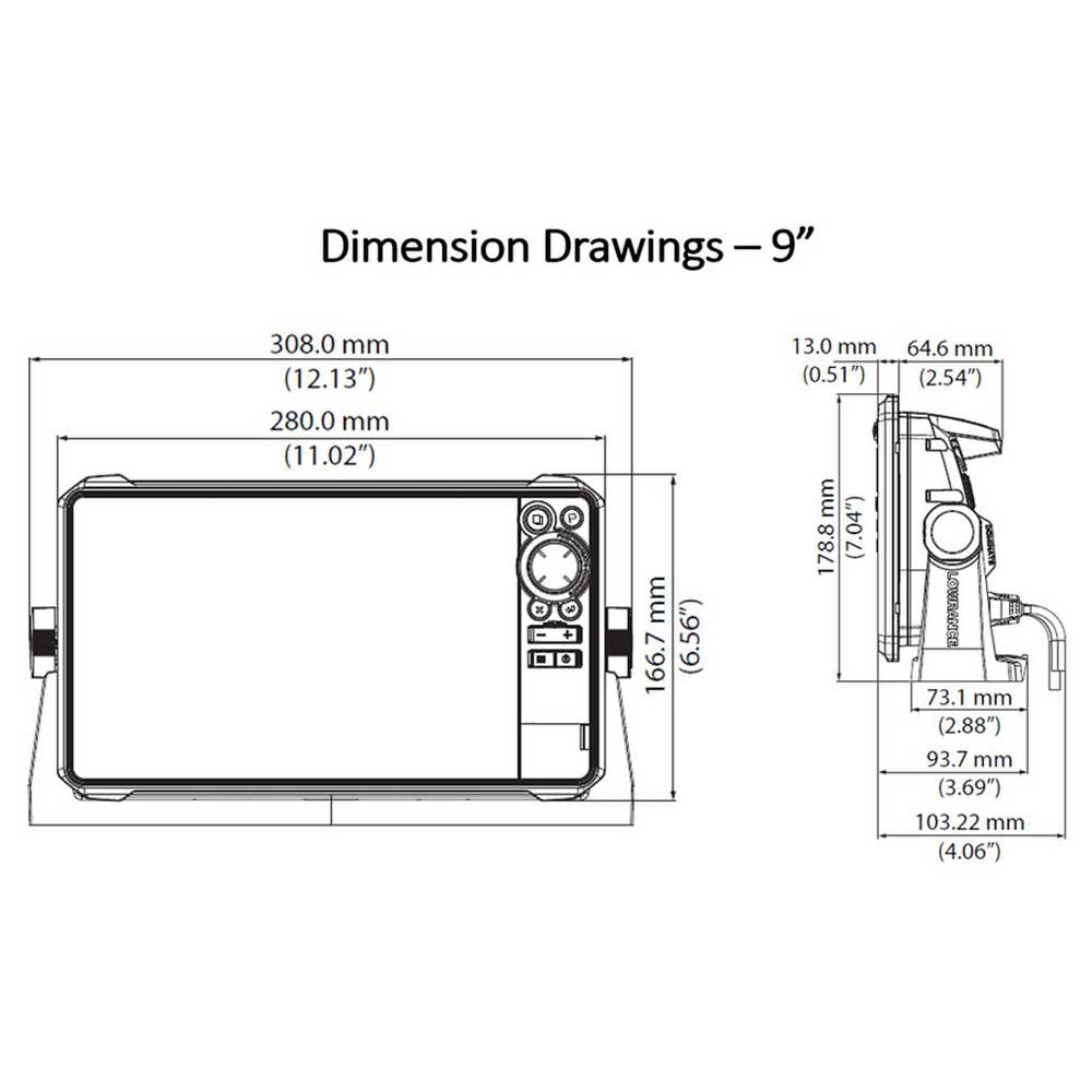 hds 8 wiring diagram lowrance hds 9 live black buy and offers on waveinn  lowrance hds 9 live black buy and