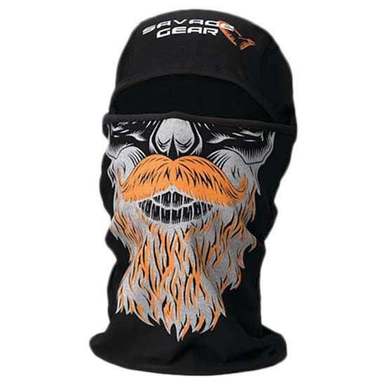 halsschlauche-savage-gear-beard-balaclava-one-size-black