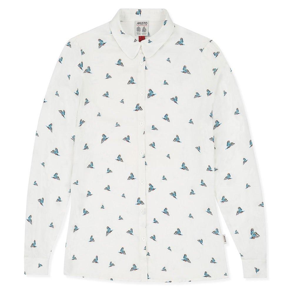hemden-musto-kingfisher-printed