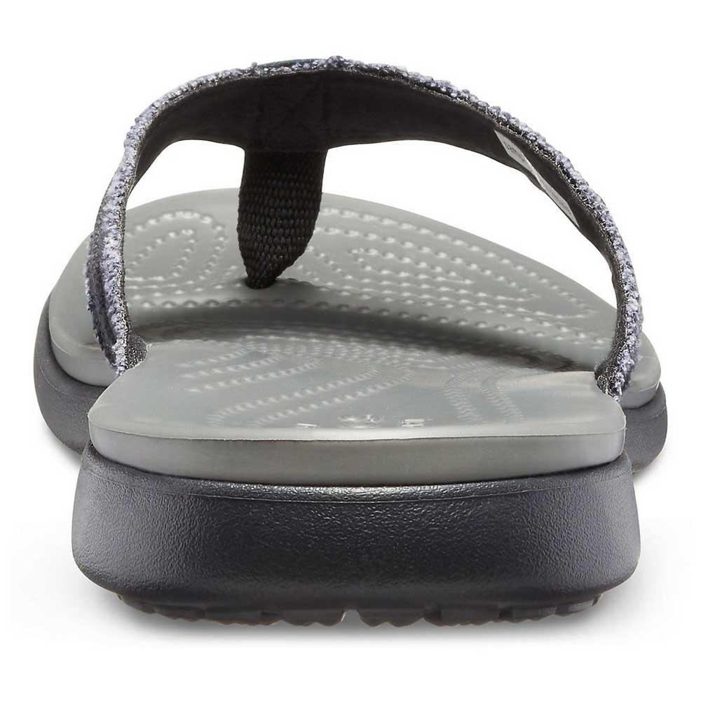 Crocs Santa Cruz Canvas Flip Grey buy