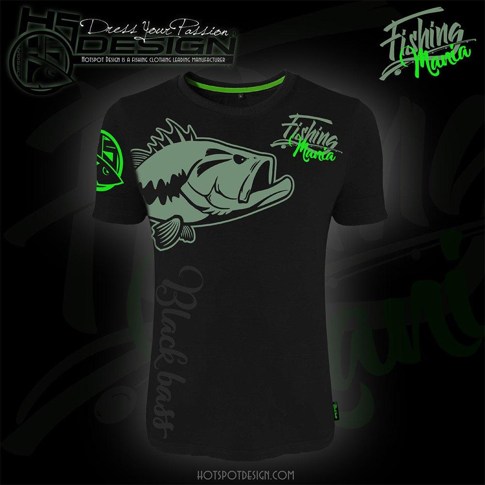 HOTSPOT DESIGN Fishing Mania Barracuda Camiseta para Pesca Marina