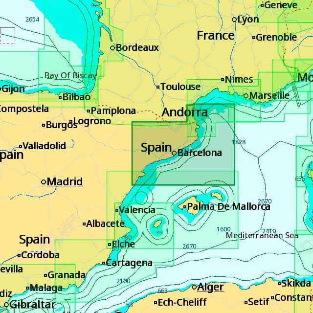 c-map-4d-max-em-d140-peniscola-to-port-la-nouvelle-one-size-black