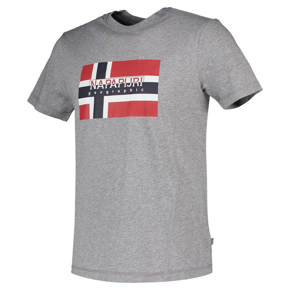 Napapijri SOLANOS - T-shirts med print - marine