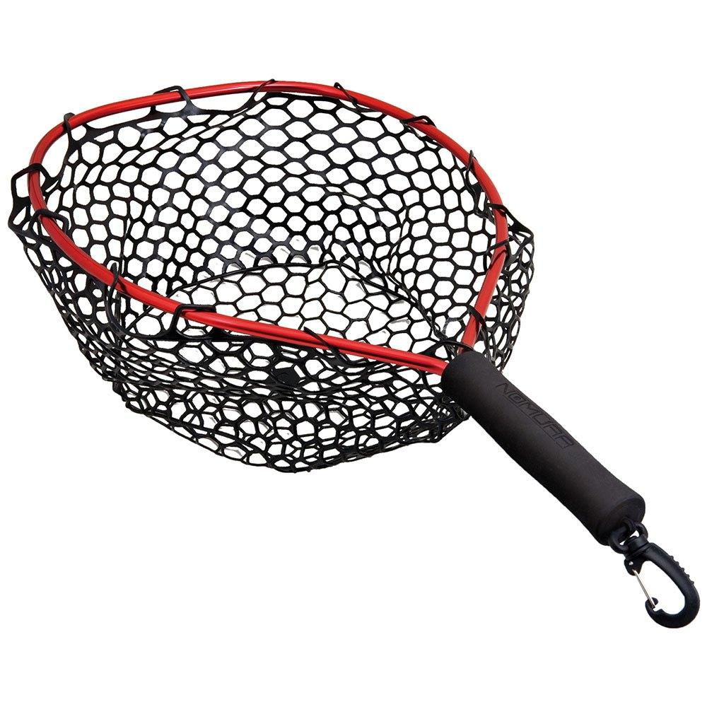 kescher-nomura-kayak-belly-boat-net-40x32-cm-one-size-black-red