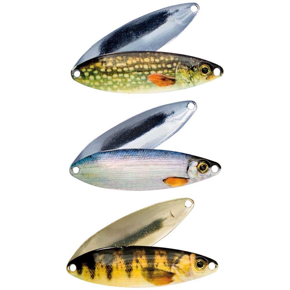 Nomura Micro Lake Fishing Spoons Trout 2 pcs.3,8 gr Lures Bait Hooks Perch Asp