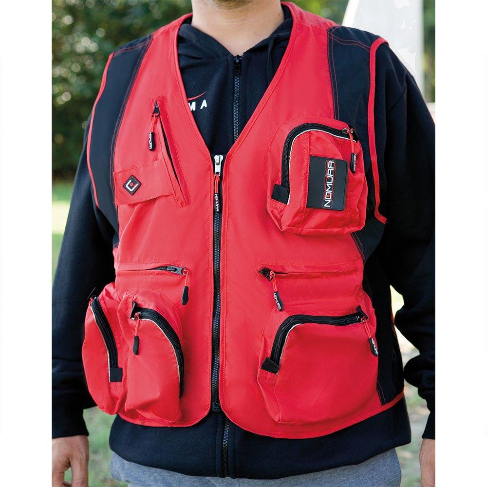westen-nomura-fishing-vest-l-red