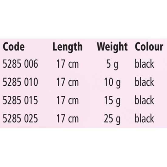 MAGIC TROUT Bottom Detector Long Range 17 cm 15 g Noir