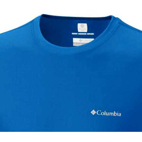 616a8a3e7f2 Columbia Zero Rules S/S Shirt Blue buy and offers on Waveinn