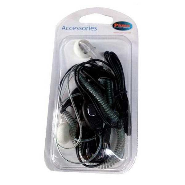Cobra Pack Headphones With Transparent Cable For Walkies