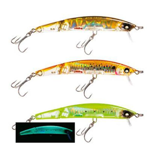Yo-zuri Crystal 3D Minnow Jointed F 130