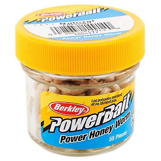 Berkley Powerbait Honey Worm 55 pcs