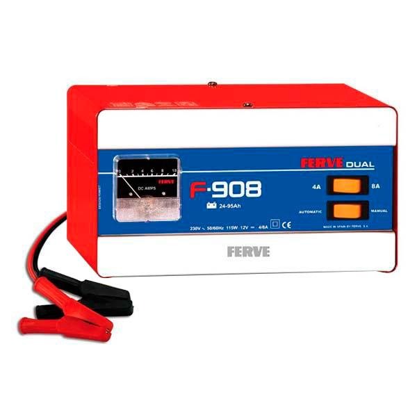 Ferve Battery Charger Dual 24 95Ah F908