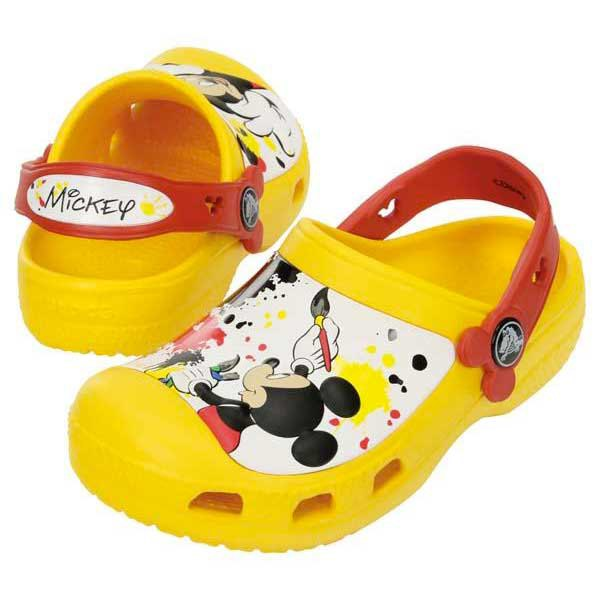 Crocs Creative Mickey Paint Splatter One
