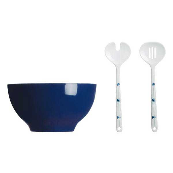 Marine business Columbus Salad Bowl and Cutlery