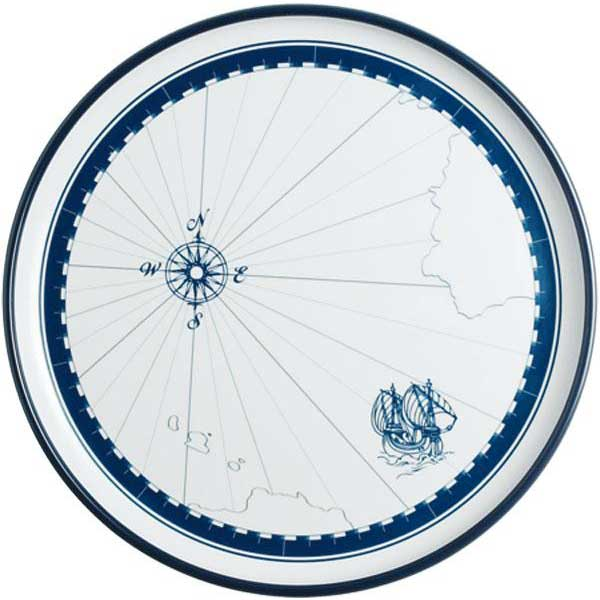 Marine business Columbus Round Serving Platters