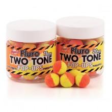 Dynamite baits Tutti Frutti Pineapple Fluro Two Tone Pop Ups 1 Pot