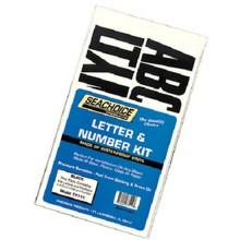 Seachoice Letters and Numbers Kit