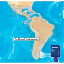 Navionics Navionics+ 3XG Central South America MSD