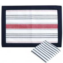 Marine business Waterproof Coated Placemats and Napkins