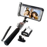 Ksix Wireless Waterproof Selfie Monopod With Remote Control