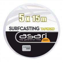 Asari SurfCasting Leaders 5x15m