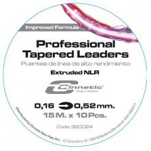 Cinnetic Tapered Leaders 10x15