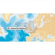 Navionics Navionics+ UK. Ireland and Holland