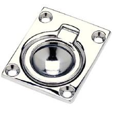 Seachoice Flush Ring Pull Chrome Plated Cast Brass