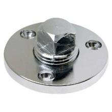 Seachoice Garboard Drain Plug Chrome