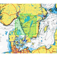 Navionics Navionics+ Small Cf West of Sweden