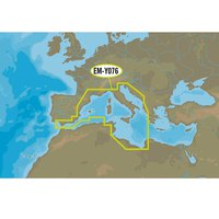 C-map Nt+ Wide Southwest European Coasts