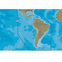 C-map Nt+ Wide South America and Continental Caribbean