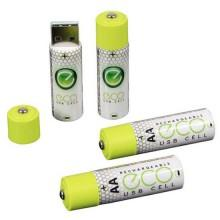 Pilot electronics USB AA Rechargeable Batteries