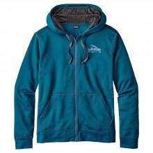 Patagonia Small Flying Fish Polycycle Full Zip Hoody
