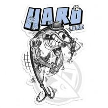 Hotspot design Sticker Hard Lure
