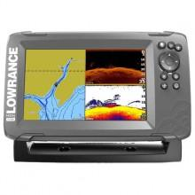 Lowrance Hook2-7 SplitShot GPS Mapping US Coastal WM/ROW